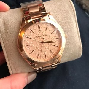 Stunning Rose Gold Michael Kors Watch
